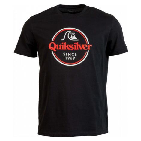 Quiksilver WORDS REMAIN SS schwarz - Herrenshirt