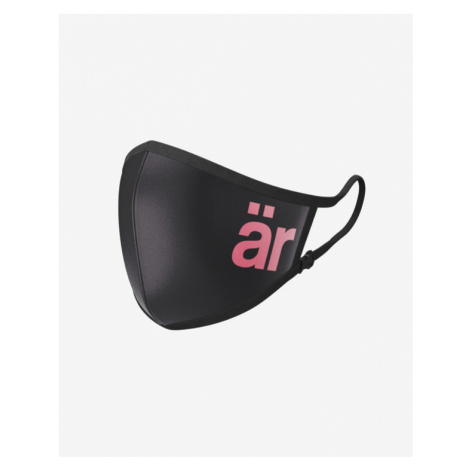 är Big Logo Children's nanofilter mask Schwarz