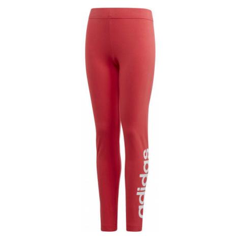 adidas YG E LIN TGHT rosa - Mädchen Leggings