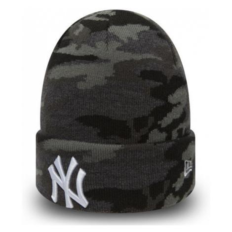 New Era MLB Esential Camo Knit NY Yankees Grey