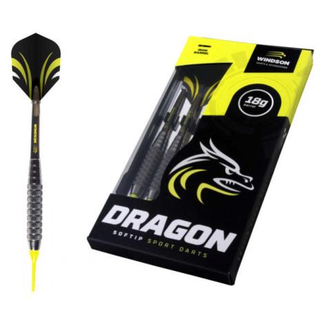 Windson DRAGON SET schwarz - Dartpfeile