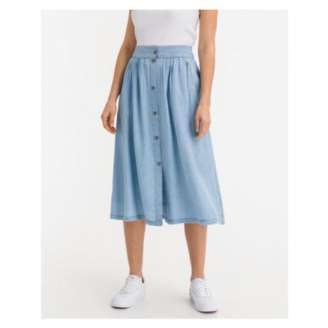 Blaue a-linien-röcke