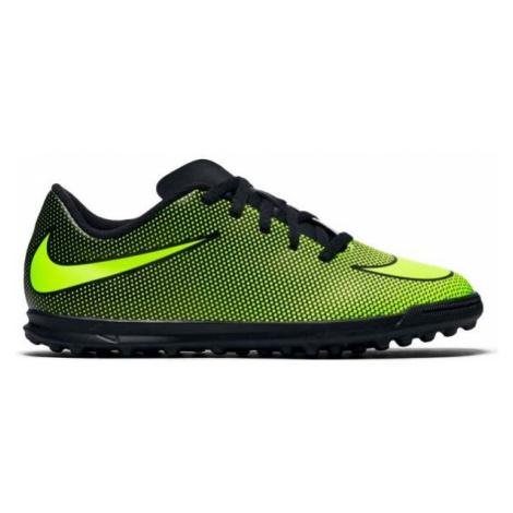 Nike BRAVATA II TF JR schwarz - Kinder Fußballschuhe