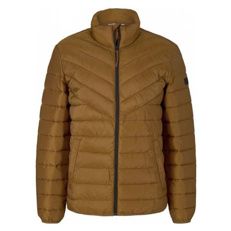 TOM TAILOR DENIM Herren Gesteppte Lightweight Jacke mit recyceltem Polyamid, orange