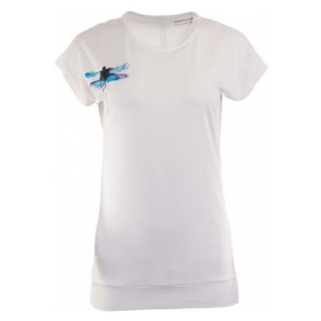 ALPINE PRO TUFA 5 weiß - Damenshirt