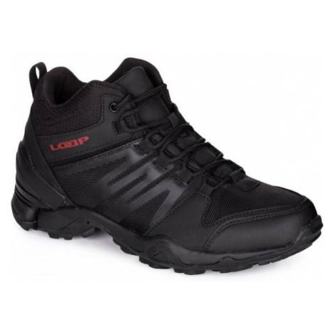 Loap DWIGHT MID WP schwarz - Herren Sneaker