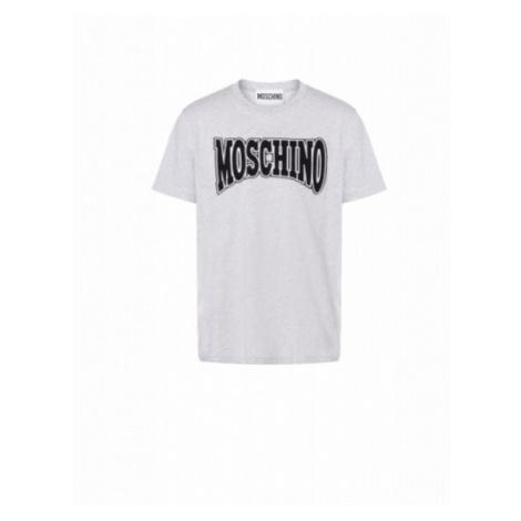 Jersey-t-shirt Con Logo Moschino