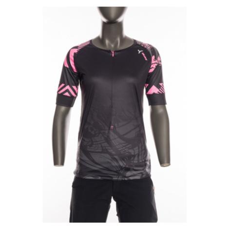 Damen MTB Dress Silvini Stabina WD1432 schwarz/rosa