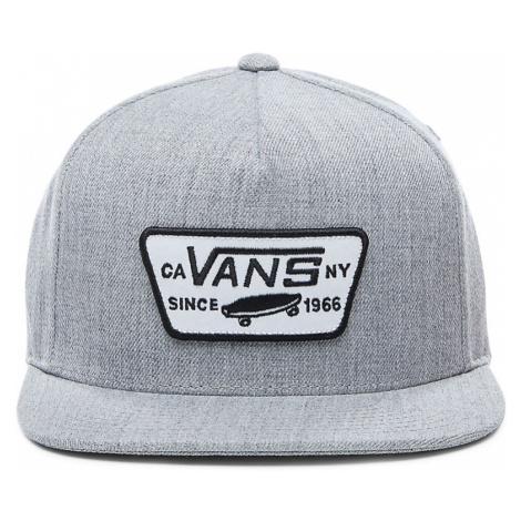 VANS Full Patch Snapback Kappe (heather Grey) Herren Grau, One Size