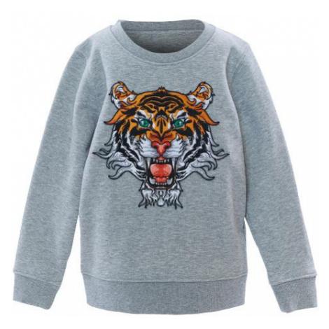 Mini Tiger Sweatshirt Grey