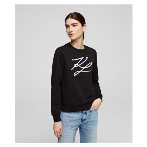 KL Signature Sweatshirt Karl Lagerfeld