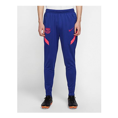 Nike FC Barcelona Strike Strick-Fußballhose für Herren - Deep Royal Blue/Light Fusion Red/Light