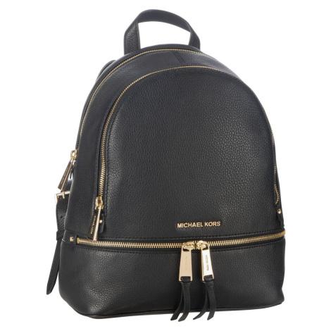 Michael Kors Rucksack / Daypack Rhea Zip Medium Backpack Black (9.6 Liter)