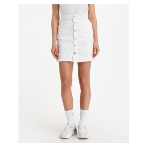ICHI Ziggy Skirt Weiß