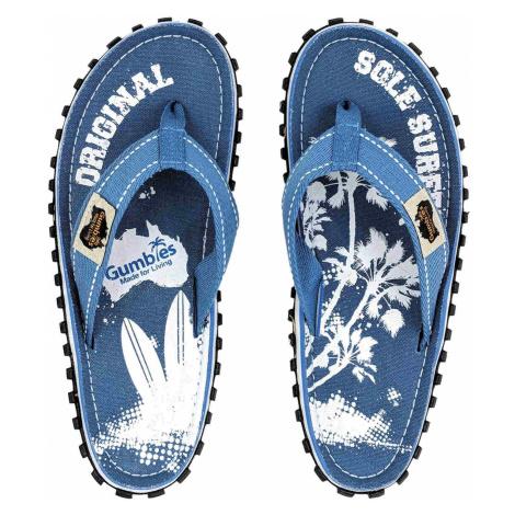 Gumbies GUMBIES - Australian Shoes Herren Zehensandalen blau,palm