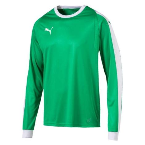 Puma LIGA GK JERSEY JR grün - Jungen T-Shirt