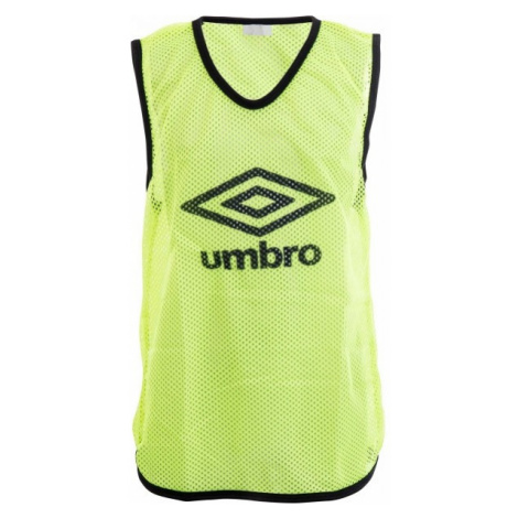 Umbro MESH TRAINING BIB - 65 X 52CM - Junior gelb - Kinder Trainingsleibchen