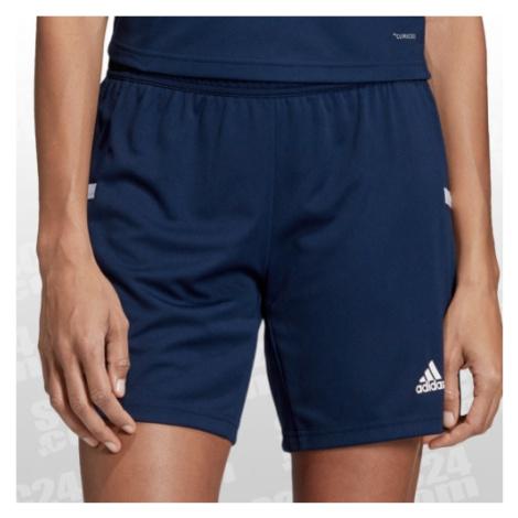 Blaue training shorts für damen