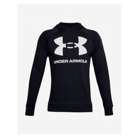 Under Armour Rival Fleece Big Logo Sweatshirt Schwarz