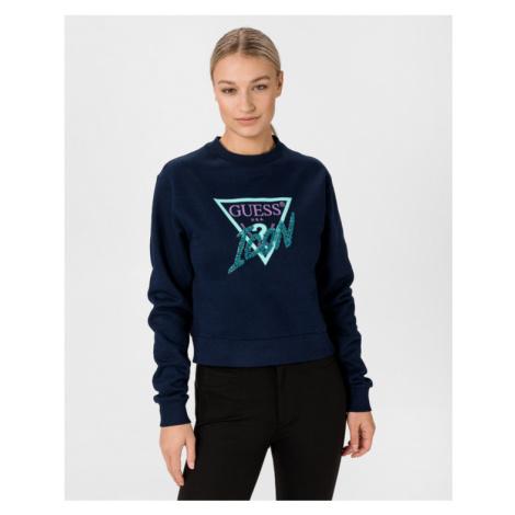 Guess Icon Sweatshirt Blau