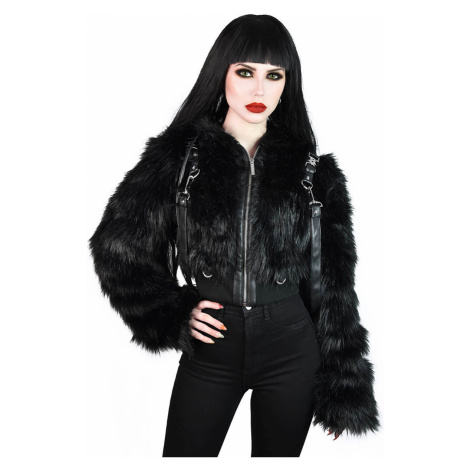 Damen Jacke KILLSTAR - Night Creature Faux-Fur - KSRA002233 4XL