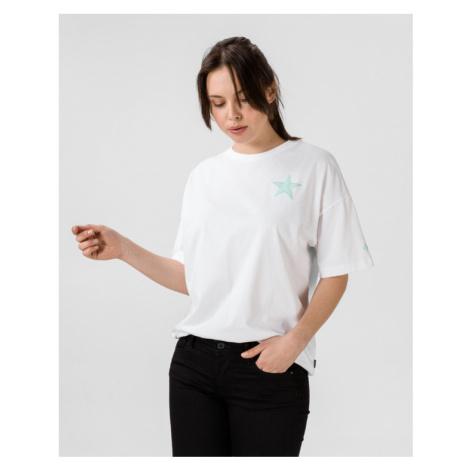 Converse Twisted Varsity T-Shirt Weiß