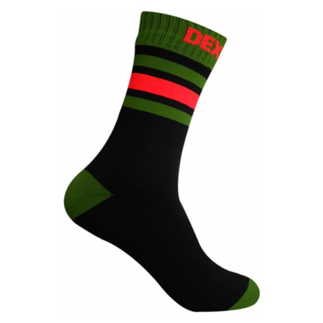 Socken DexShell Ultra Dri Sport Sock Black / Blaze orange
