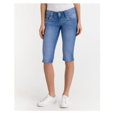 Pepe Jeans Venus Crop Shorts Blau