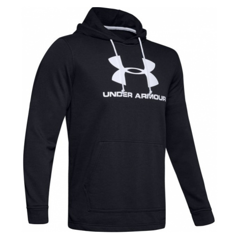 Under Armour SPORTSTYLE TERRY LOGO HOODIE-BLK