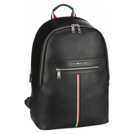 Tommy Hilfiger Rucksack / Daypack TH Downtown Backpack SP21 Black (19.8 Liter)