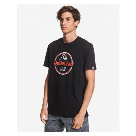 Quiksilver Words Remain T-Shirt Schwarz