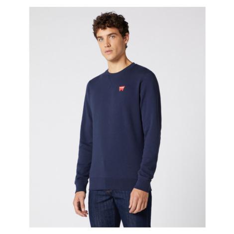 Wrangler Sweatshirt Blau