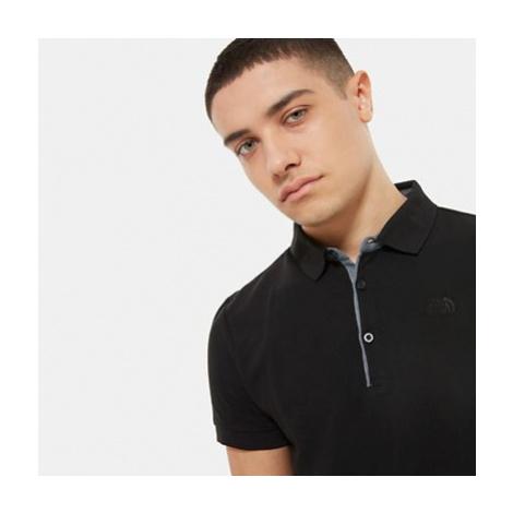 The North Face Premium Piqué Polo Shirt Für Herren Tnf Black/tnf Black