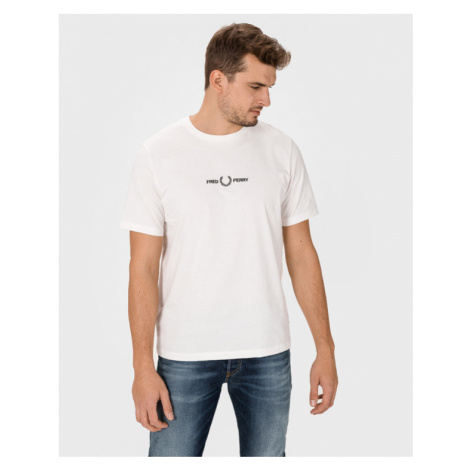 Fred Perry T-Shirt Weiß