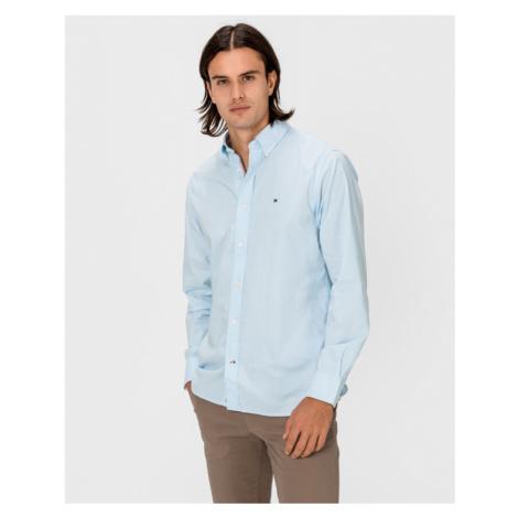 Tommy Hilfiger Flex Refined Oxford Hemd Blau