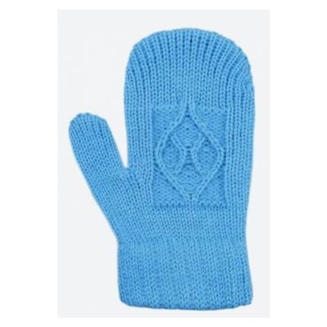 Kinder gestrickte Merino Handschuhe Kama RB202 115