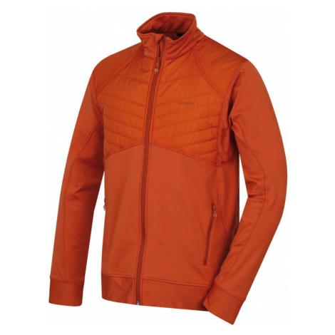 Herren Sweatshirt Husky Luftig M tl. Orange
