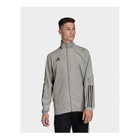 Adidas Condivo 20 Präsentationsjacke - Team Mid Grey / Black - Herren, Team Mid Grey / Black