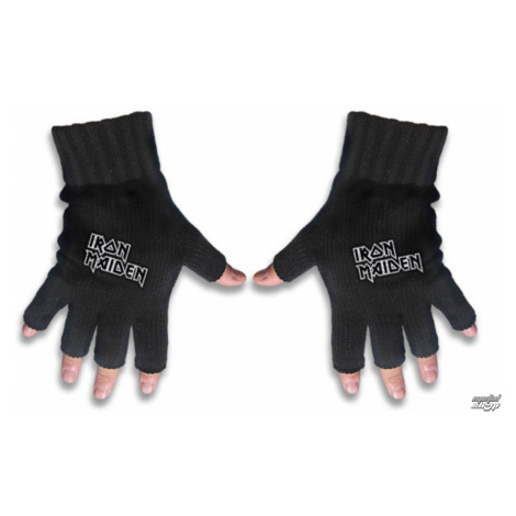 Handschuhe fingerlos IRON MAIDEN - LOGO - RAZAMATAZ - FG054