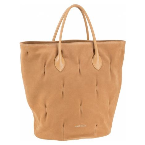 Coccinelle Handtasche Diana Goodie Suede Warm Beige (23.3 Liter)