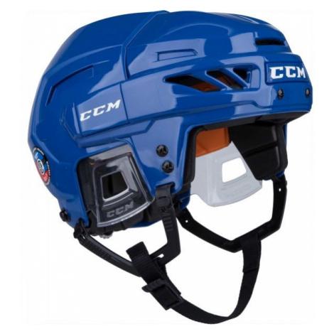 CCM FITLITE 90 SR blau - Hockey Helm