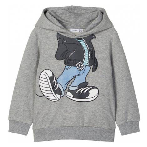 NAME IT Disney Mickey Mouse Sweatshirt Herren Grau