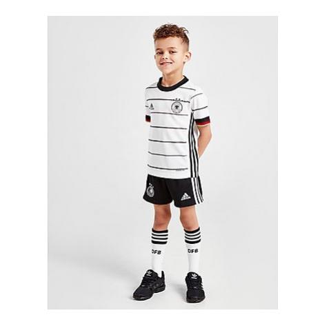 Adidas Deutschland 2020 Home Kit Kleinkinder - White/Black - Kinder, White/Black