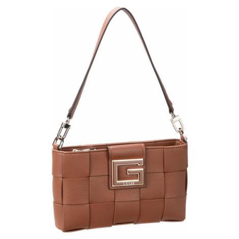 Guess Handtasche Liberty City Top Zip Shoulder Bag Cognac (1.8 Liter)