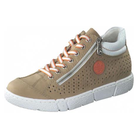 Rieker Sneaker High Damen beige