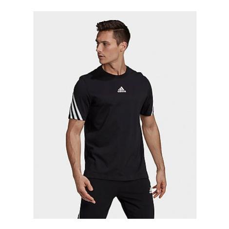Adidas Sportswear 3-Streifen Tape T-Shirt - Black - Herren, Black