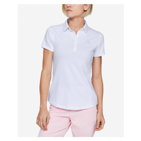 Under Armour Zinger Polo T-Shirt Weiß