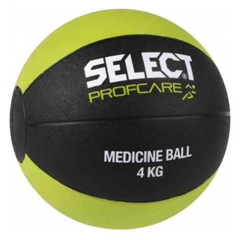 schwierig Ball Select Medicine Ball 4kg schwarz green