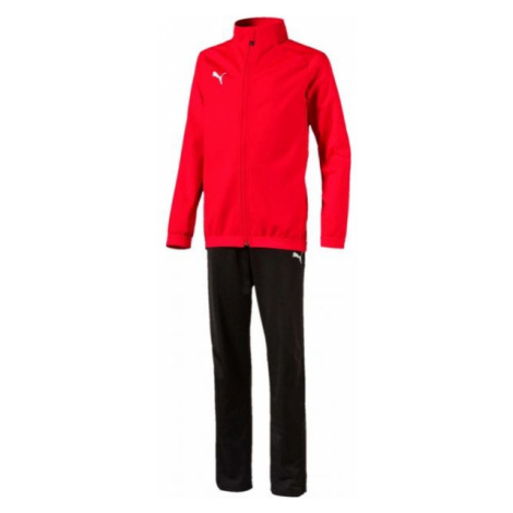 Puma LIGA SIDELINE TRACKSUIT JR schwarz - Trainingsanzug für Jungs