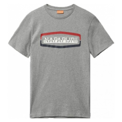 Napapijri SOGY SS BRIGHT grau - Herrenshirt
